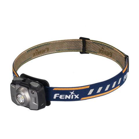 Фонарь светодиодный налобный Fenix HL32R серый, 600 лм, встроенный аккумулятор