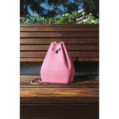 Сумка для ланча MB E-ZY темно-розовая Monbento 21040026