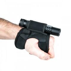 Крепление на руку для дайвинговых фонарей, черный маленький SHolster