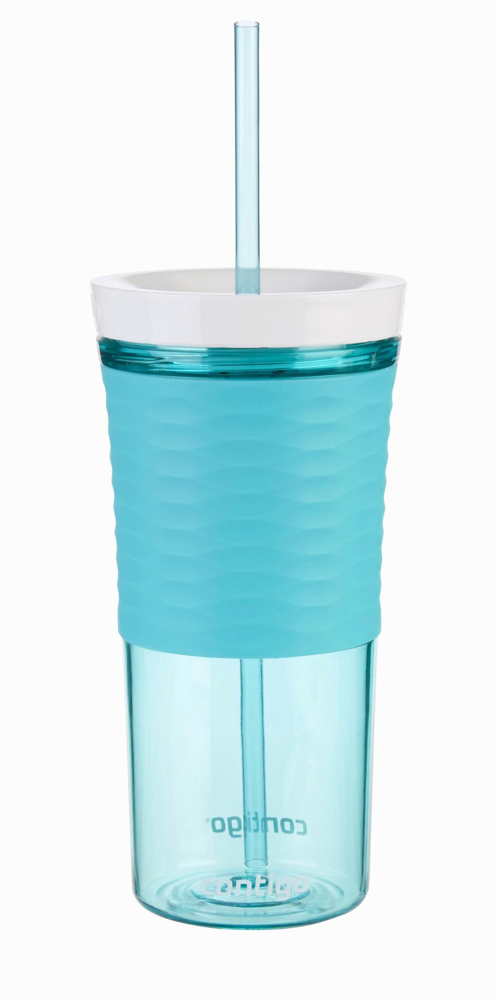 Стакан-шейкер Contigo (0.53 литра) голубой contigo0327