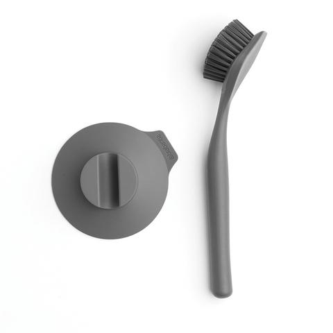 Щетка для мытья посуды с держателем на присоске Brabantia 117589