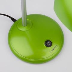 Зеленая настольная лампа Eurosvet Confetti 1926  зеленый