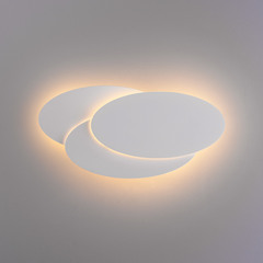 Elips LED белый матовый Настенный светодиодный светильник Elektrostandard  Elips LED белый матовый (MRL LED 12W 1014 IP20)