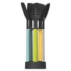 Набор силиконовых кухонных инструментов Elevate™ Оpal на подставке Joseph Joseph 10176