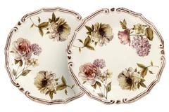 Набор из 2-х десертных тарелок  Сады Флоренции 34694