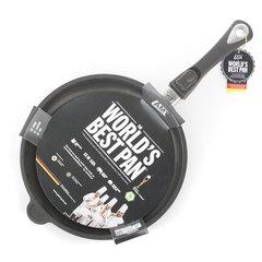Комплект из 4 сковород AMT Frying Pans (высотой 4см) со съемной ручкой