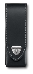 Чехол Victorinox кожаный черный, на липучке 4.0524.3