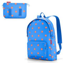 Рюкзак складной Mini maxi azure dots Reisenthel AP4058