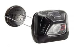 Фонарь светодиодный налобный Petzl Zipka черный, 200 лм E93ABA