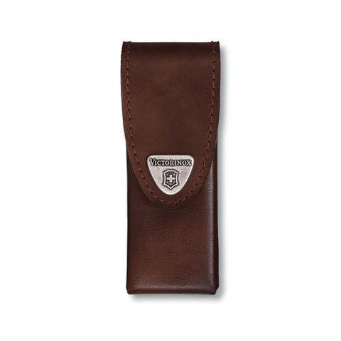 Чехол кожаный Victorinox, коричневый для Swiss Tools Spirit MV-4.0832.L