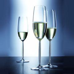 Набор из 2 фужеров для шампанского 219 мл SCHOTT ZWIESEL Diva арт. 104 594-2