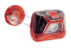 Фонарь светодиодный налобный Petzl Zipka красный, 200 лм E93ABB