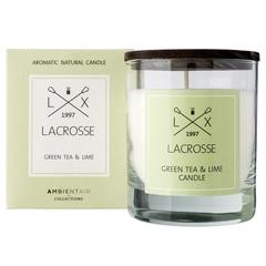 Свеча ароматическая в стекле 'Зеленый чай & Лайм' 8*8 см Ambientair VV040TVLC