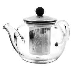 Чайник для кипячения и заваривания, стеклянный с фильтром 0,95 л IBILI Kristall арт. 622309