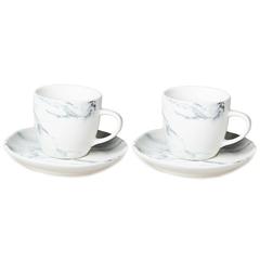 Набор чайных пар Liberty Jones Marble, 250 мл, 2 шт. LJ_RM_CU250