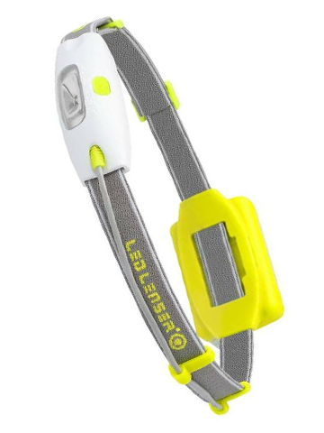 Фонарь светодиодный налобный LED Lenser NEO желтый, 90 лм., 3-ААА