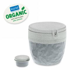 Ланч-бокс Club Bento Organic серый Koziol 3198672