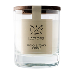 Свеча ароматическая в стекле «Дерево & тонка» Ambientair VV040WTLC
