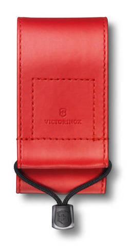 Чехол из искусственной кожи Victorinox, красный для Swiss Officers Knife 91 и 93 мм толщиной 5-8 уро MV-4.0481.1
