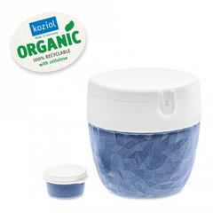 Ланч-бокс Club Bento Organic синий Koziol 3198671