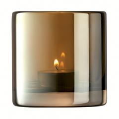 Подсвечник Signature Epoque 8,5 см, янтарь LSA International G1662-08-141