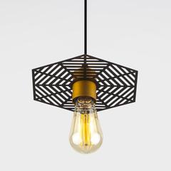 Подвесной светильник 50167/1 бронза/черный Eurosvet