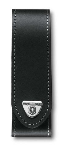 Чехол кожаный Victorinox, чёрный, для RangerGrip 130 мм, на липучке* MV-4.0506.L