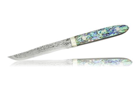 Нож кухонный для стейка 110мм Hiroo Itou Damaskus HI-1123