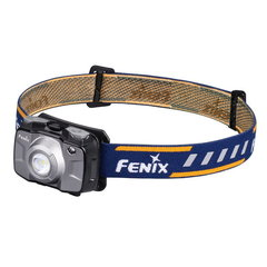 Фонарь светодиодный налобный Fenix HL30GY серый, 300 лм, 2-АА HL30GY2018