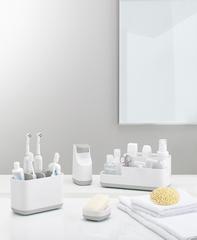 Органайзер для зубных щеток EasyStore большой белый-серый Joseph Joseph 70510