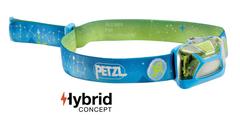 Фонарь светодиодный налобный Petzl Lamp Tikkid голубой, 20 лм, 3 AAA E091BA00