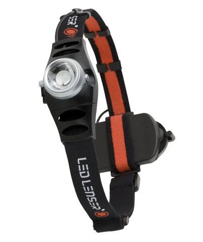 Фонарь светодиодный налобный LED Lenser H6R, 200 лм., аккумулятор