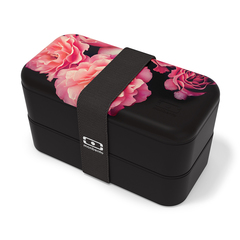 Ланч-бокс MB Original Flower mood black Monbento 1200 42 125