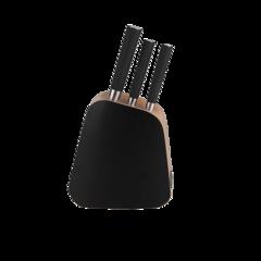 Набор из 3 кухонных ножей и подставки Rondell Balestra RD-485