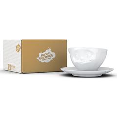 Чайная пара Tassen Tasty 200 мл белая T01.46.01