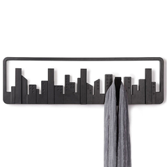 Вешалка настенная Skyline черная Umbra 318190-040