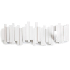 Вешалка настенная Sticks белая Umbra 318211-660