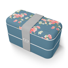 Ланч-бокс MB Original Flower mood denim Monbento 1200 42 127