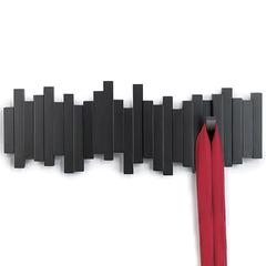 Вешалка настенная Sticks черная Umbra 318211-040