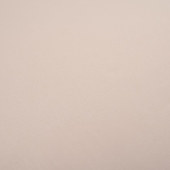 Простыня на резинке из сатина бежевого цвета из коллекции Essential, 160х200 см Tkano TK20-FS0020