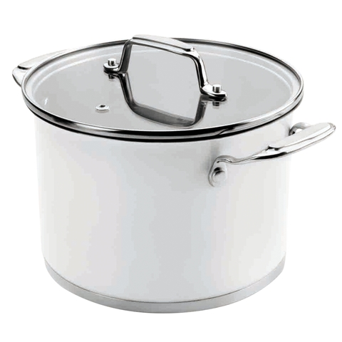 Кастрюля 24см (6,5 л) LACOR Cookware White арт. 43124