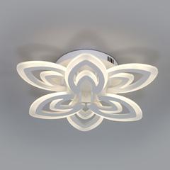 Потолочный светодиодный светильник с пультом управления Eurosvet Floritta 90227/6 белый