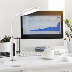 Настольный светодиодный светильник 80503/1 белый 80503/1 Eurosvet