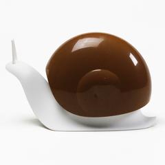 Диспенсер для мыла Escar, белый с коричневым Qualy QL10261-WH-BN