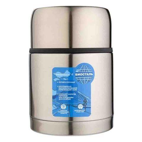 Термос для еды Biostal Авто (0,5 литра) с термочехлом