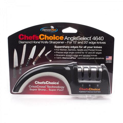 Точилка Chef's Choice для азиатских и европейских ножей СH/4640