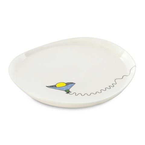Набор 2пр тарелок круглых 25см Eclipse ornament BergHOFF 3705002