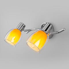 Настенный светильник с поворотными плафонами Eurosvet Potpourri 20119/2 желтый