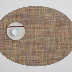 Салфетка подстановочная, жаккардовое плетение, винил, (36х48) Confetti (100132-005) CHILEWICH Mini Basketweave арт. 0025-MNBK-CONF*