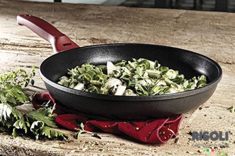 Литая сковорода 20см Risoli Soft Safety Cooking 01103GF/20TP